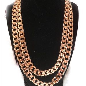 BaubleBar Jewelry - BaubleBar Rose Gold Necklace